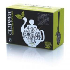 Clipper Fairtrade Tea Bags Ref A06816 [Pack 440]