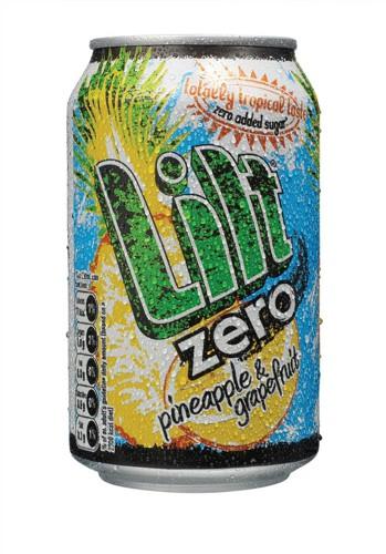 Lilt Zero Diet Soft Drink Can 330ml Ref 0402065 [Pack 24]