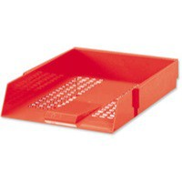 Red Contract Letter Tray