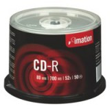 Image for Imation CD-R 700Mb/80minutes 52X Spindle Pack of 50 i18647