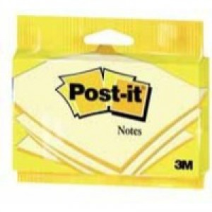 Image for 3M Post-it Note 76mmx127mm Canary Yellow