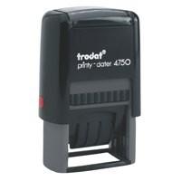 Trodat 4750/L2 Dater Paid Red/Blu 64297