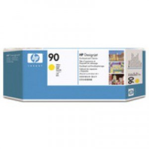HP 90 Yellow Printhead / Cleaner C5057A