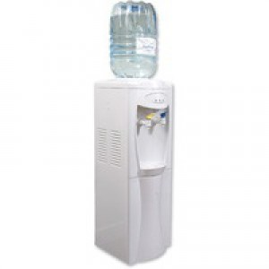 Water Cooler Dispenser Floor Standing White