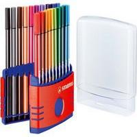 Stabilo 68 Fibre Tip Pen Assrtd 6820-03