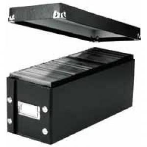 Leitz Click /Store DVD Black Storage Box