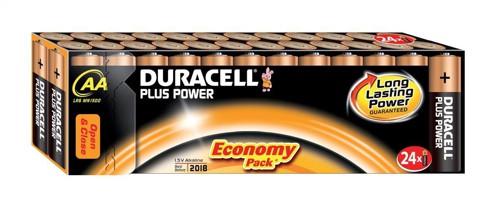 Duracell Plus Power AA Battery Pkd24