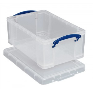 RUP 5L Clear Ladies Shoe Box Pk3