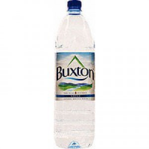Buxton Natural Mineral Water Bottle Plastic 1.5 Litre Still Ref 742900 [Pack 6]