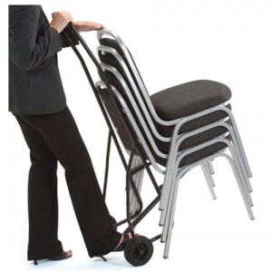Trexus Chair Trolley for 10 Stacking Chairs