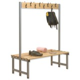 Image for Trexus Double Sided Bench with Hooks 1000x720mm Ref 866134