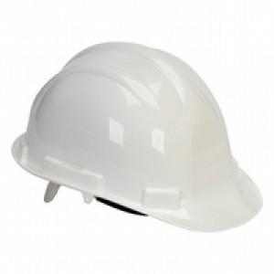 Comfort Vented Safety Helmet White