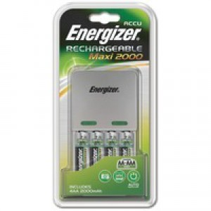 Image for Energizer Maxi Charger 4xAA Batteries