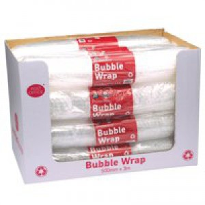 Postpak Clear Bubble Wrap Pk12