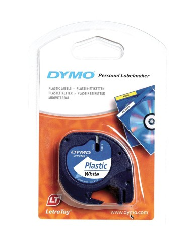 Dymo 12mm Letratag tape Transperent
