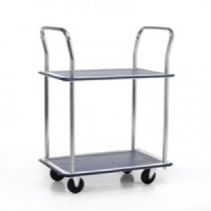 Image for Barton 2Shelf Trolley PST2 (1)