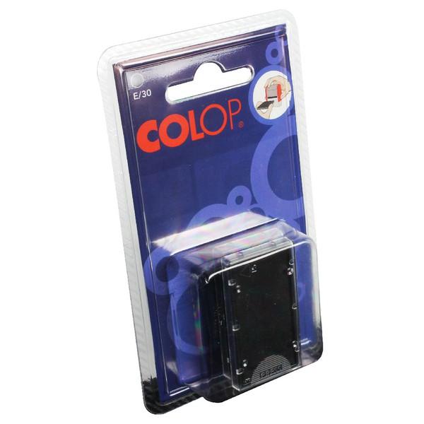 Colop E/30 Repl Pad Black E30BK Pk2
