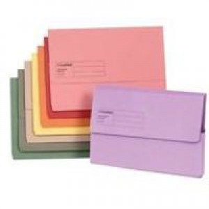 Guildhall Document Wallet Fs Yellow Pk50