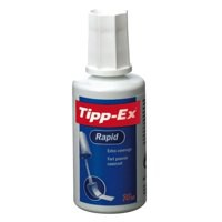 Tipp-Ex Rapid Correction Fluid Fast Drying With Foam Applicator 20ml White Code 801287