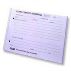 Chartwell Tachograph Vehicle Defect Report Pad 50 Sheets Code CVDR1
