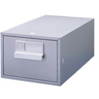 Image for Bisley Card Index Cabinet 5x3 inches Single Grey FCB13