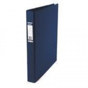 Bantex 4D-Ring Binder PVC A3 30mm Upright Blue 100080862