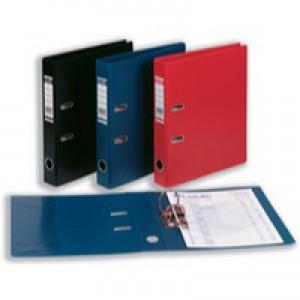 Bantex Lever Arch File PVC A4 Black 50mm 100080910