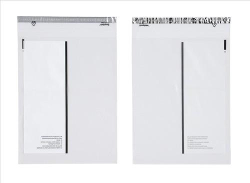 PostSafe Envelopes Polythene Self-seal 70micron 40mm Flap Clear C4+ Ref P24 [Box 100]