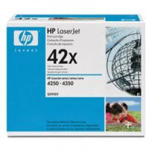 HP No.42X Laser Toner Cartridge Black Code Q5942X