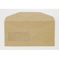 Image for Niger Envelope Manilla 70Gm DL 110x220mm Gummed Flapped Window 22Up 17Lhs Boxed 1000