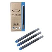 Parker Quink Cartridge Ink Refills Box of 5 Blue Ref S0881580 [Pack 12]