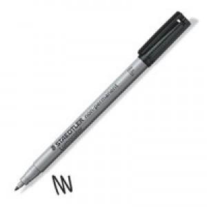 Staedtler 316 Lumocolor Pen Non-permanent Fine 0.6mm Line Black Code 316-9