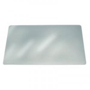 Durable Duraglas Desk Mat Transparent Anti-Glare 650x500mm Code 7113/19