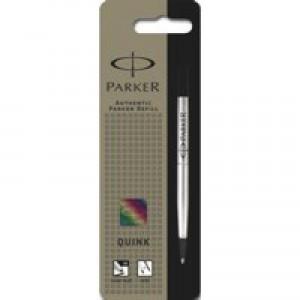 Parker Rollerball Pen Refill Medium Black 06633 S0881230
