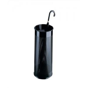 Durable Umbrella Stand Metal Round Black 28.5Litre Code 3350/01