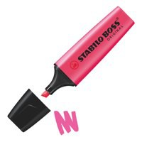 Stabilo Boss Highlighters Chisel Tip 2-5mm Line Pink Code 70/56/10