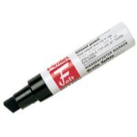 Pentel Marker Chisel Tip Black M180/6-A