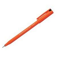 Pentel S570 Ultra Fine Pen Plastic 0.6mm Tip 0.3mm Line Black Ref S570-A [Pack 12]