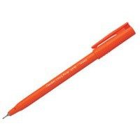 Pentel S570 Ultra Fine Pen Plastic 0.6mm Tip 0.3mm Line Red Ref S570-B [Pack 12]