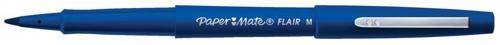 PaperMate Fine Line Marker Nylon 1.1mm Tip 0.8mm Line Blue Code S0191012