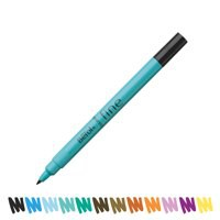 Berol Colour Fine Pen with Washable Ink 0.6mm Line Black Wallet 12 Code S0376300