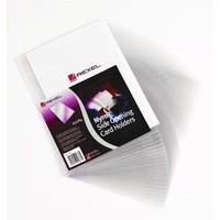 Rexel Card Holder Nyrex Open on Short Edge 127x76mm Ref 12020 [Pack 25]