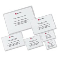 Rexel Nyrex Card Holder Open On Short Edge 159x100mm Code 12030