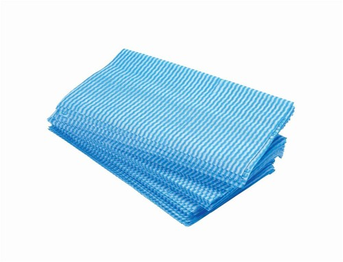 Large All Purpose cloths 610x360mm Blue [Pack 50]