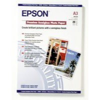 Epson Premium Photo Paper Semi-gloss 251gsm A3 Ref S041334 [20 Sheets]