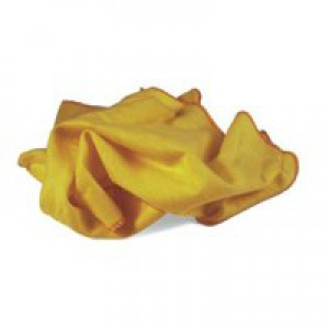 Yellow Dusters 100 per Cent Cotton [Pack 10]