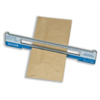 Image for Salter Size Based Pricing Ruler Pricing in Proportion Postal Rate Tool ABS Plastic Ref SBPR001