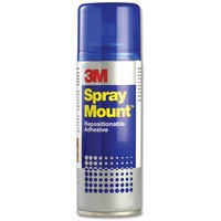 3M Scotch Spray Mount Adhesive 200ml Spray Can Code HSMOUNT