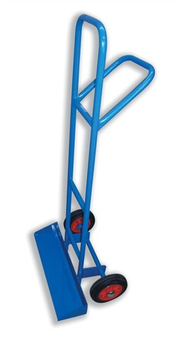 Carrying Trolley for Stacking Chairs with Steel Frame 2 Rubber Wheels