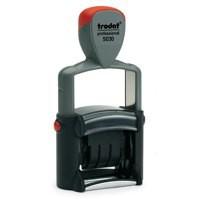 Trodat Professional 5030 Dater Stamp Metal Frame Self-inking 24x4mm Ref 73642